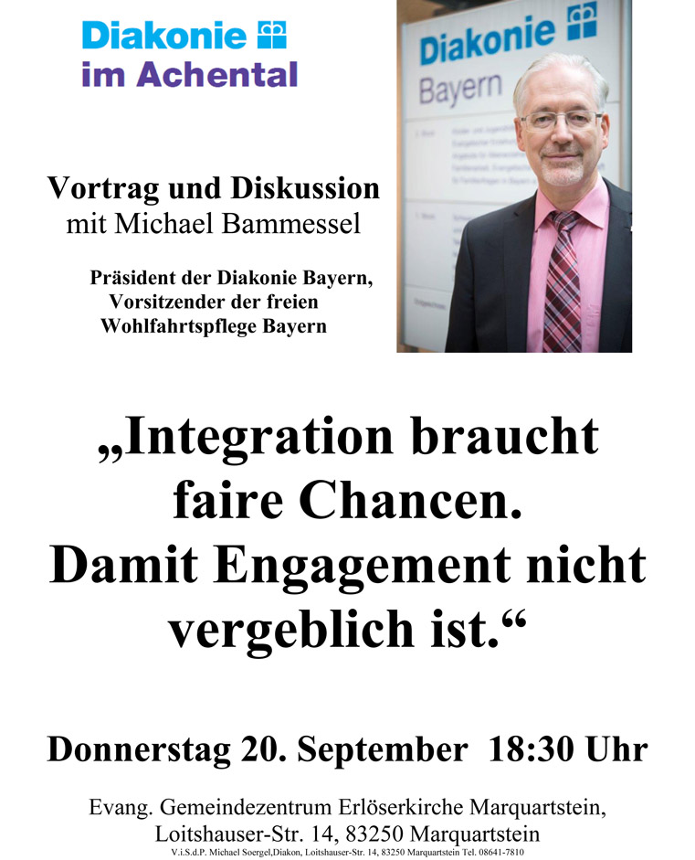Integration. Michael Bammessel